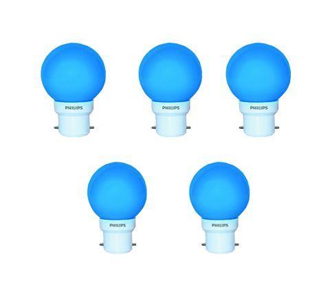 Philips LED Deco 0.5W B22 bulb(Pack of 5)