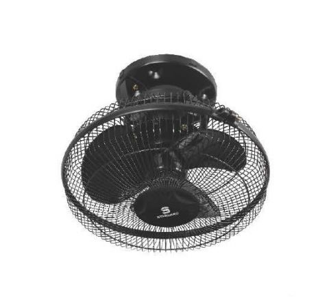 Standard Axis Cabin 300 mm Wall Fan Black
