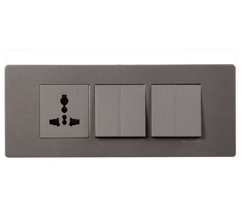 Crabtree Amare 6M Cover Plate Grey