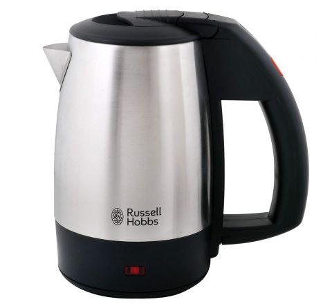 Russell Hobbs RJK500T Stainless Steel 1000W 0.5 L Electric Travel Kettle(Black)