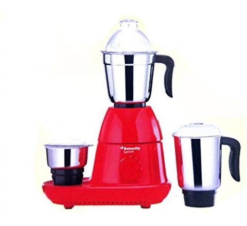 Butterfly Cyclone 750w Mixer Grinder Red