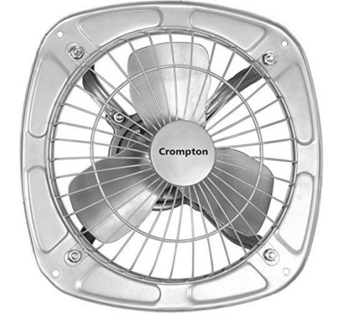 Crompton Drift Air Plus Exhaust Fan (300 mm/12-inch, Silver)