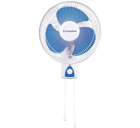 Crompton Windflo 400mm High speed Wall Mount Fan(White)