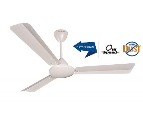 Crompton JURA Prime Anti DUST 1.2M Conch Cream Ceiling Fan
