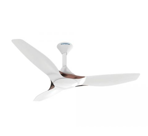 Crompton Silent Pro Enso 1200 mm Activ BLDC Ceiling Fan with Remote(Silk White)
