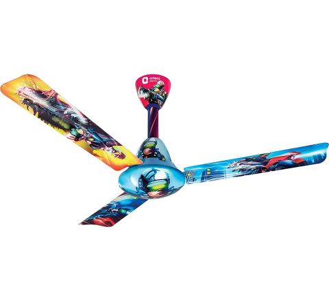 Orient Electric Fantoosh Superhero 1200 mm Kids Ceiling Fan (Blue)