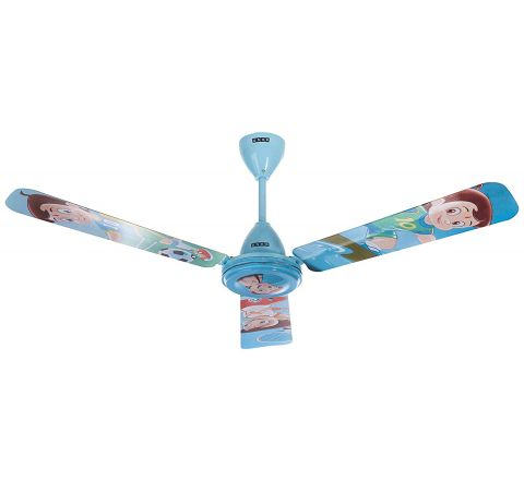 Usha Chhota Bheem Ceiling Fan 1200mm with Aeroswitch Remote, Blue
