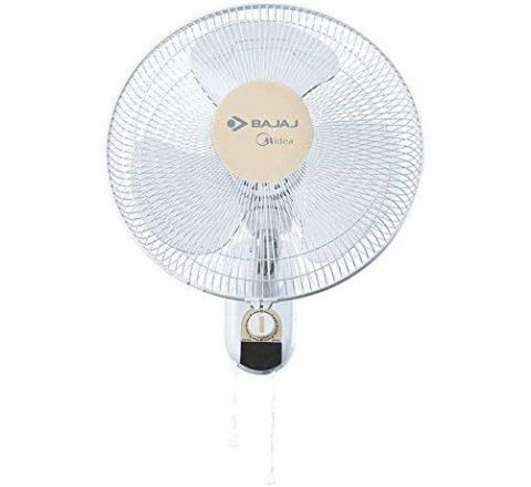 Bajaj Midea BW07 Wall Fan (400mm, Cream)