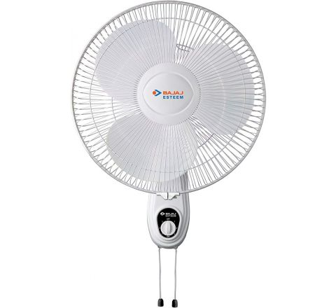 Bajaj Esteem 400 mm Double String Wall Fan White
