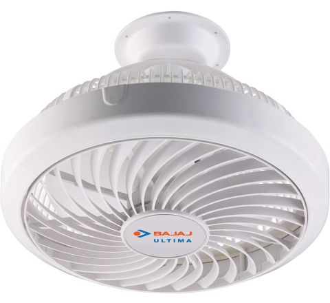 Bajaj Ultima 75-Watt Cabin Fan (White)