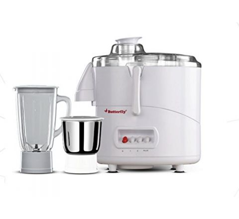 BUTTERFLY Speedy 500 WATT. JUCIER Mixer Grinder (White)