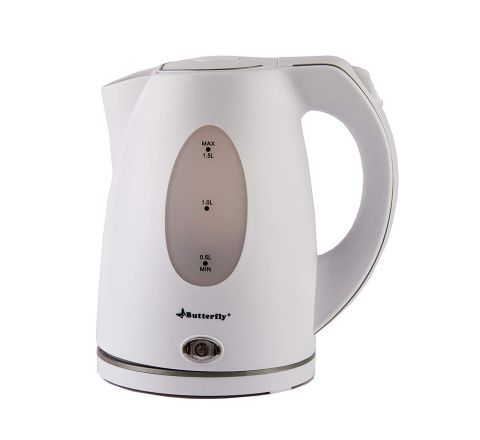Butterfly EWK 04 2000-Watt Electric Kettle (White)