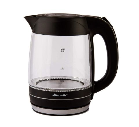 Butterfly EWK 06 2000-Watt Electric Kettle (Black)