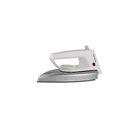 Butterfly Popular 750-Watt Dry Iron (Silver/White)