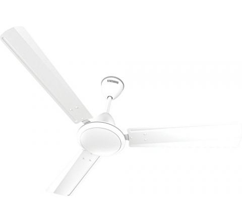 Standard Breezer Metallic 1200 mm Ceiling Fan Pearl White