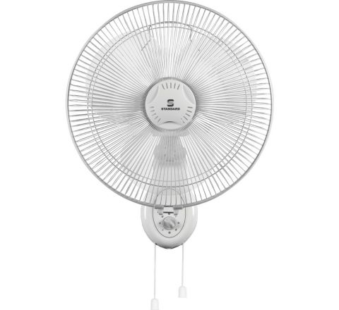 Standard Alfa 400 mm Wall Fan White
