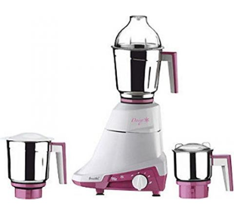 Preethi Daisy MG-201 750-Watt Mixer Grinder (White/Purple)