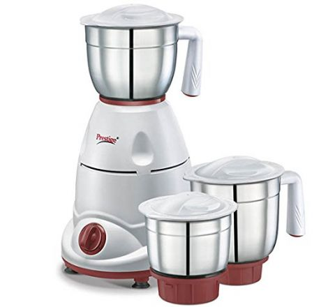Prestige Tulip Classic (500 Watt) Mixer Grinder with 3 Stainless Steel Jar