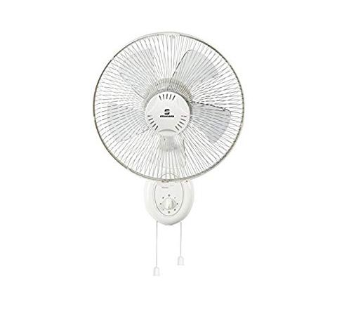 Standard Super 5 Leaf SW12 300 mm Wall Fan White