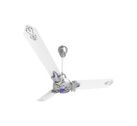 Luminous London Windsor 1200mm Ceiling Fan (Sickle Silver)