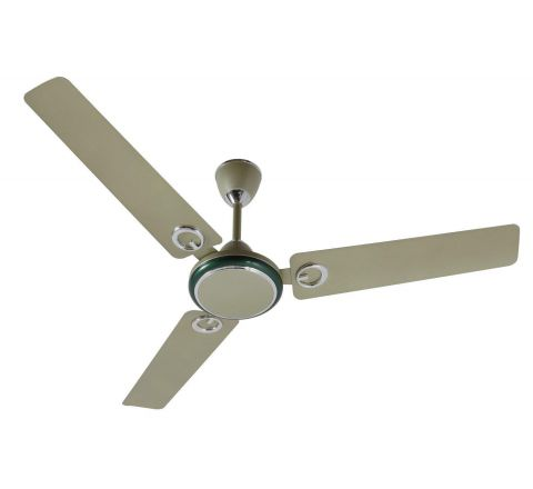 Polycab Brio Duo 1200mm Decorative Ceiling Fan (Jade Metalic Green)