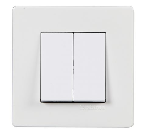 Crabtree Amare 2M Cover Plate White
