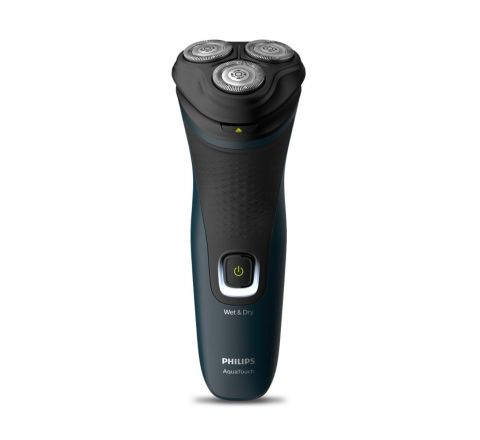 Philips Electric Shaver S1121/45, 3D Pivot & Flex Heads, 27 Comfort Cut Blades