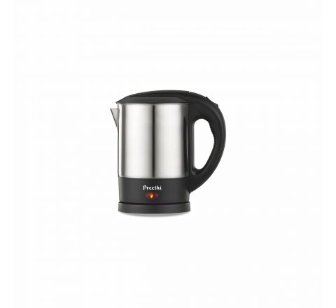 Preethi Armour EK707 1-Litre Electric Kettle (Steel/Black)