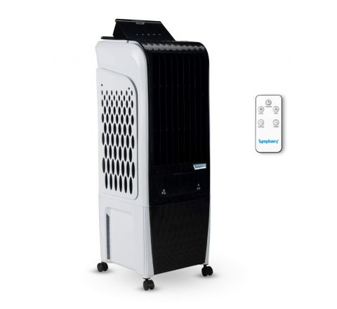 Symphony Diet 3D 20i Personal Tower Air Cooler 20 Litres with remote (Black & White)