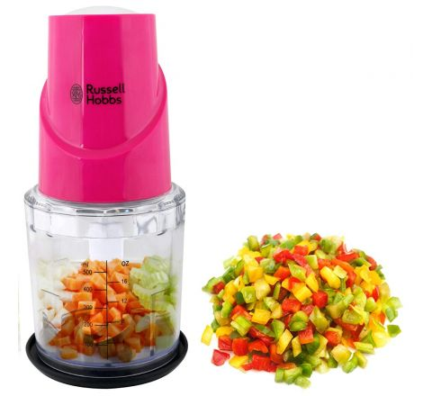 Russell Hobbs RCH350 Chopper and Whisker (Pink)