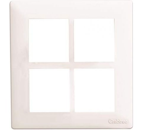 Crabtree Amare 8M(sq) Cover Plate White