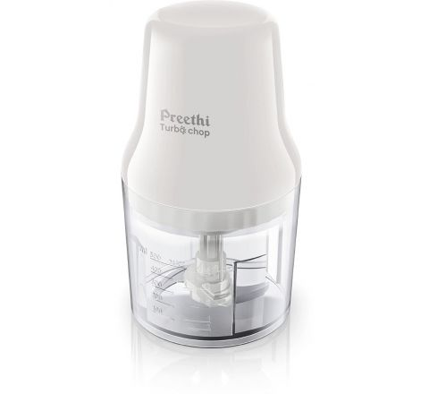 Preethi Turbo Chop CH 601 0.7-Litre 450-Watt Chopper (White)