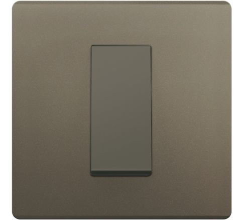 Crabtree Amare 1M Cover Plate Grey