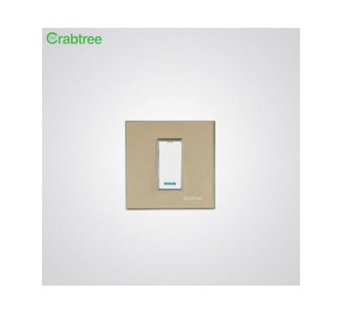 Crabtree Murano 1M Cover Plate Camel Gold