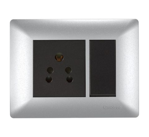 Crabtree Athena 3M cover Plate  Misty Silver