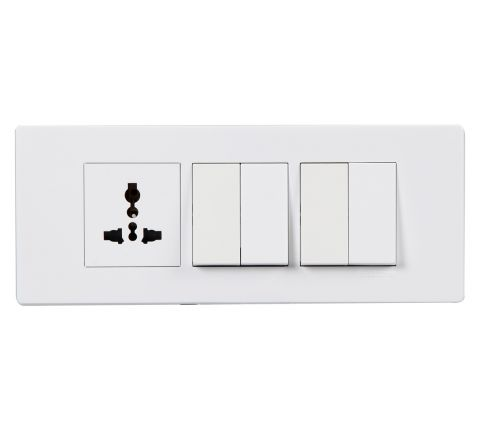 Crabtree Amare 6M Cover Plate White