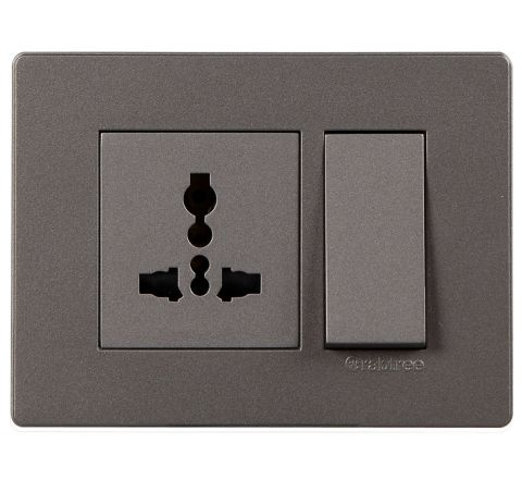 Crabtree Amare 3M Cover Plate Grey