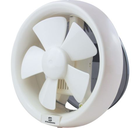 Standard Refresh Air DXR 200 mm Exhaust Fan White