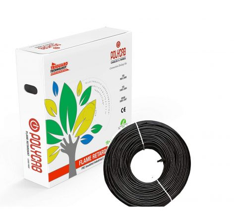 Polycab 1 Sqmm PVC Lead Free FRLF House Wire 90 meter
