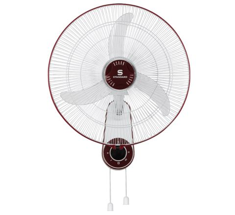 Standard super High Speed SW 18 HS 450 mm Wall Fan Red