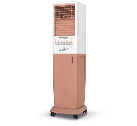 Havells Alitura-I Tower Air Cooler - 50 litres (Brown)