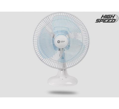 Orient Electric Desk-17 300mm Table Fan (Crystal White)