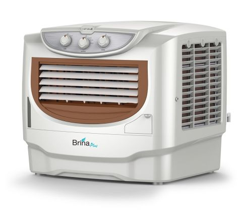 Havells Brina Plus Window Air Cooler - 50 litres (White, Brown)