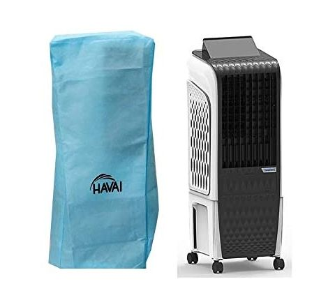HAVAI Anti Bacterial Cover for Symphony Diet 3D 20i Black Tower Cooler Water Resistant.Cover Size(LXBXH) cm:32 X 30 X 83.3