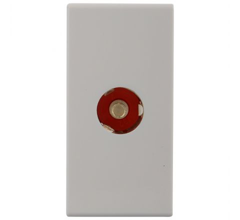 Legrand Arteor TV Socket Co-Axial White 1M 5734 25