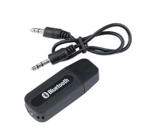 AR Lex USB Bluetooth Stereo Music Receiver 3.5mm Adapter (Black)
