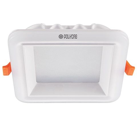 Polycab Scintilate LED Backlit Square Downlight(Cool Day Light)