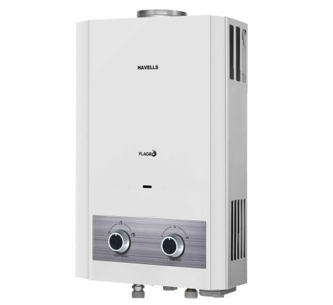 Havells Flagro 6 Liter Gas Geyser PNG(For Gas Pipeline Only)