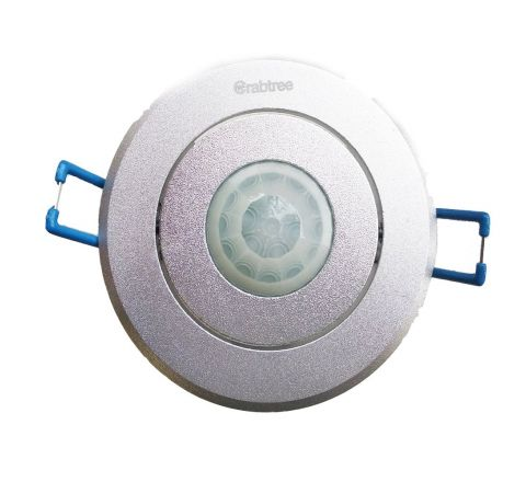 Crabtree 360 Degree PIR Motion Sensor (Flush/POP Mounting)