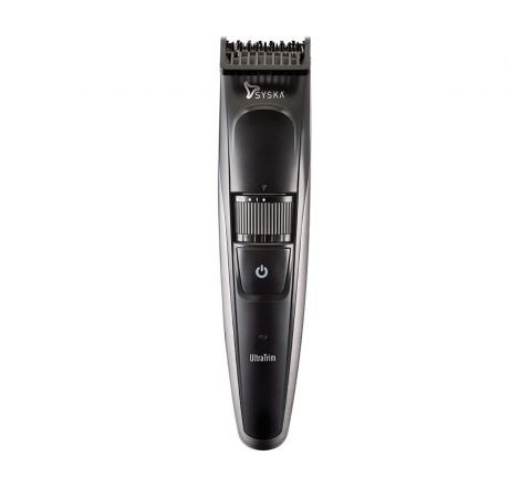 Syska HT800 Cordless Trimmer for Men (Black)